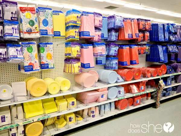 best dollar store buys party supplies - Party Decoration Stores