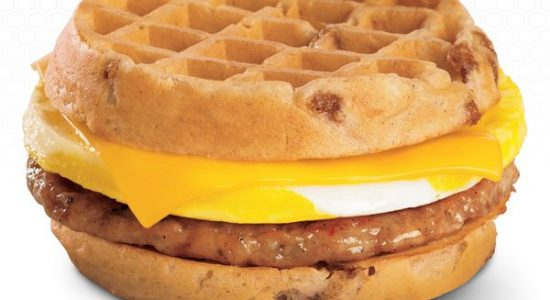 The Champion of Fast food Breakfast Sandwiches